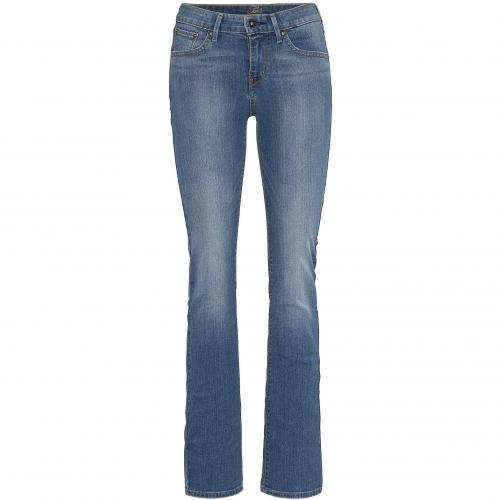 Levi's® Damen Jeans Demi Curve Straight 58 Blue Denim