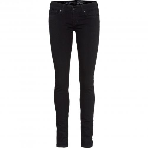 Levi's® Damen Jeans Slight Curve Skinny Black 0115