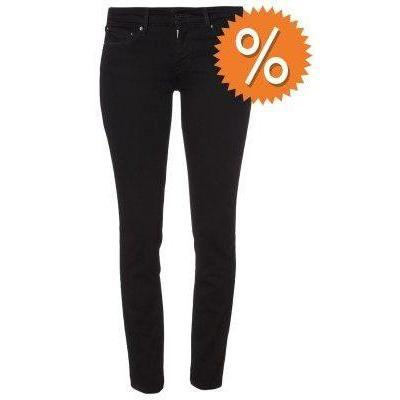 Levi's® DEMI CURVE SKINNY Jeans schwarz superstrech