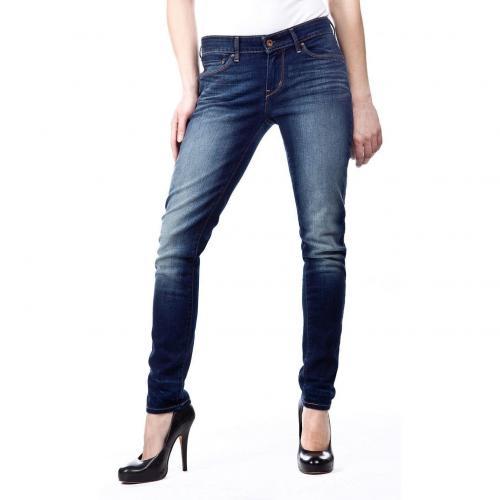 Levi's Demi Curve Skinny Jeans Slim Fit Dark Used