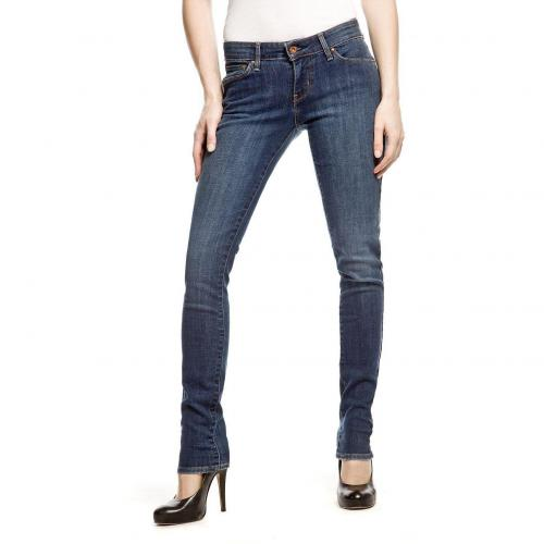 Levi's Demi Curve Skinny Jeans Slim Fit Stone Used
