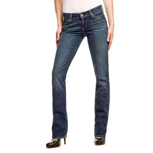 Levi's Demi Curve Straight Jeans Straightt Fit Stone
