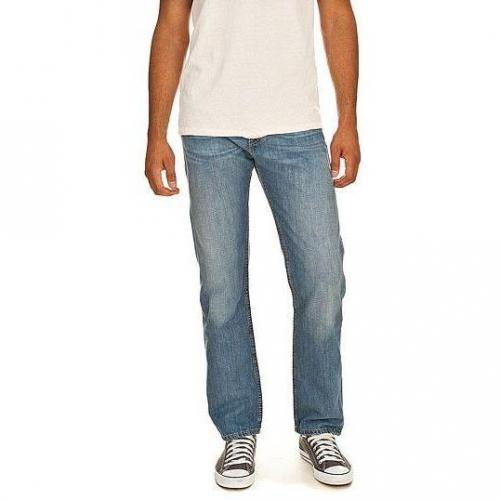 Levi's - Hüftjeans 504 Big Blue Light Helle Waschung