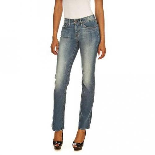 Levi's - Hüftjeans Modell Classic Demi Curve Straight Early Dawn Farbe Blaue Waschung