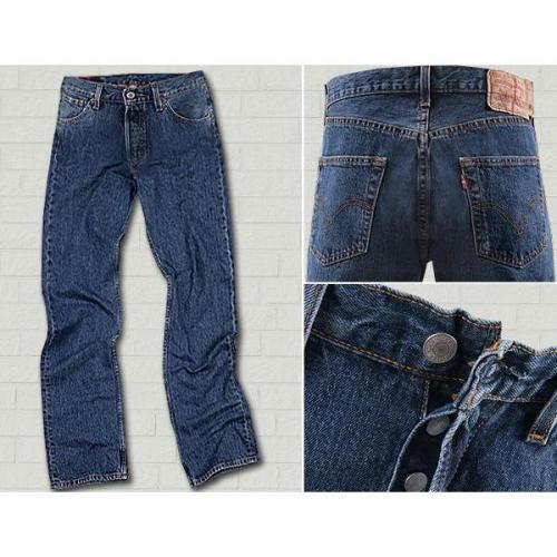 Levi's® Jeans Basic stonewash 501/01/14