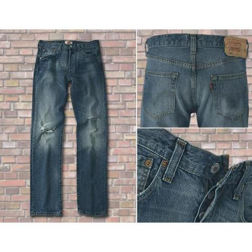 Levi's® Jeans ripped fished 501/04/80