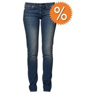 Levi's® MODERN SLIGHT CURVE SKINNY Jeans troubles blau