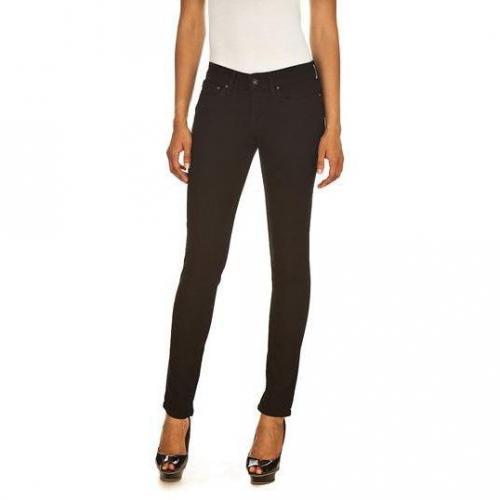 Levi's - Skinny Modell Modern Slight Curve Slim Black Superstretch Farbe Schwarz