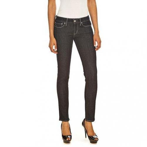 Levi's - Skinny Modell Modern Slight Curve Slim Clean Superstretch Farbe Dunkelblau