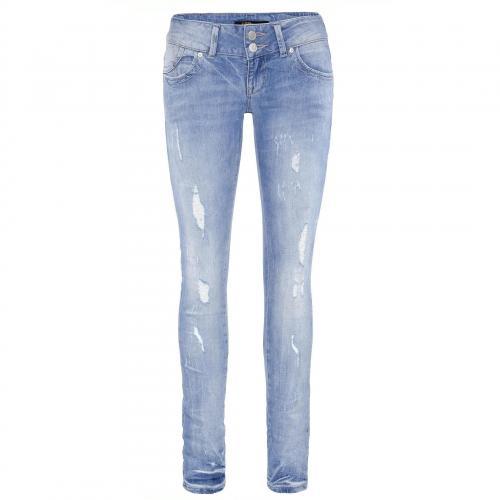 LTB Damen Jeans Molly Nimos Damaged Wash