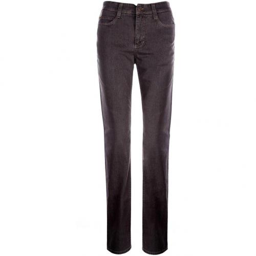 MAC Angela Jeans Straight Fit Dark Walnut