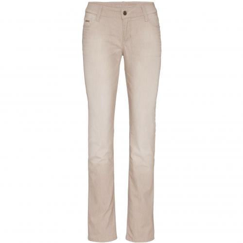 Mac Damen Jeans Carrie Power Denim Light Sand