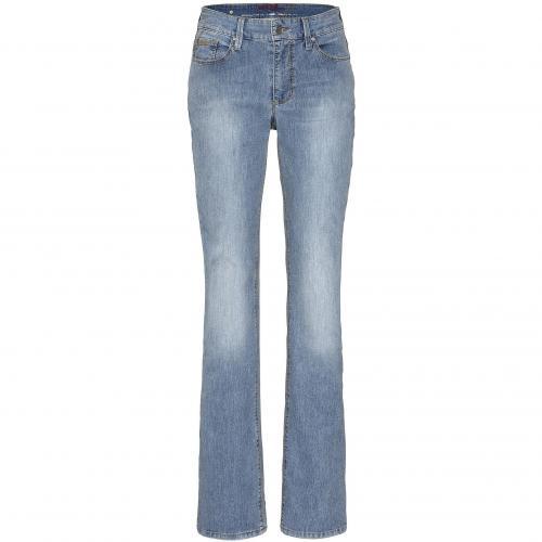 Mac Damen Jeans Melanie Power Denim Light D645 Blue Summer