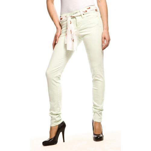 MAC Lieblings Skinny Jeans Slim Fit Grün