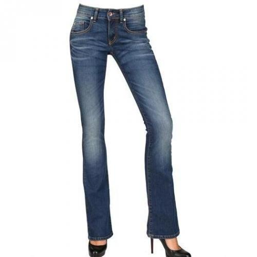 Maison Clochard - Stretch Denim Bootcut Jeans