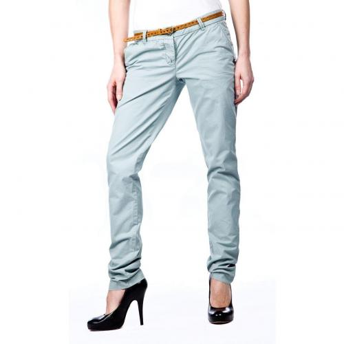 Maison Scotch Bella Chino Straight FIt Hellgrün