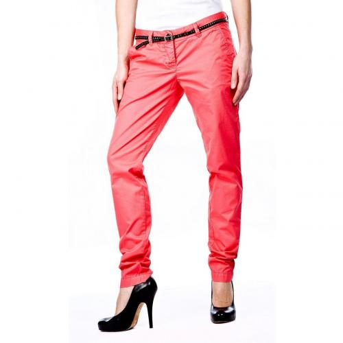 Maison Scotch Bella Chino Straight Fit Pink