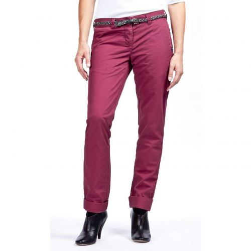 Maison Scotch Bella Chino Straight Fit Rot