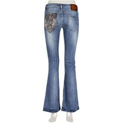 Marc O'Polo Flared-Jeans Moss