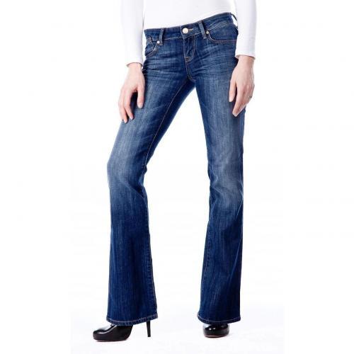 Mavi Cate Überlänge 36 Jeans Stone Used Bootcut