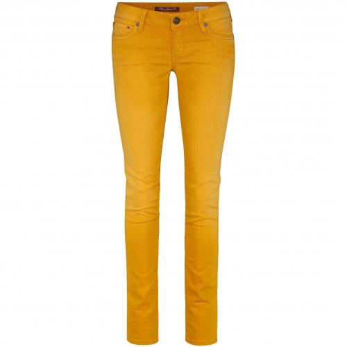 Mavi Damen Coloured-Jeans Lindy Orange Golden Oak