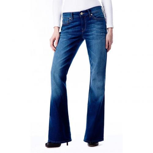 Mavi Flare Jeans Stone Used Bootcut