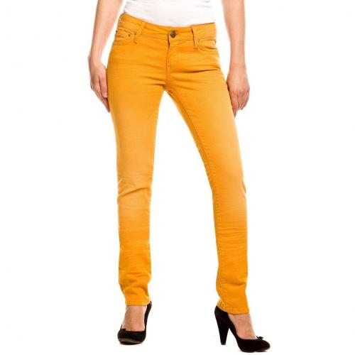 Mavi Lindy Jeans Slim Fit Gelb