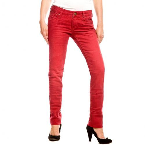 Mavi Lindy Jeans Slim Fit Rot