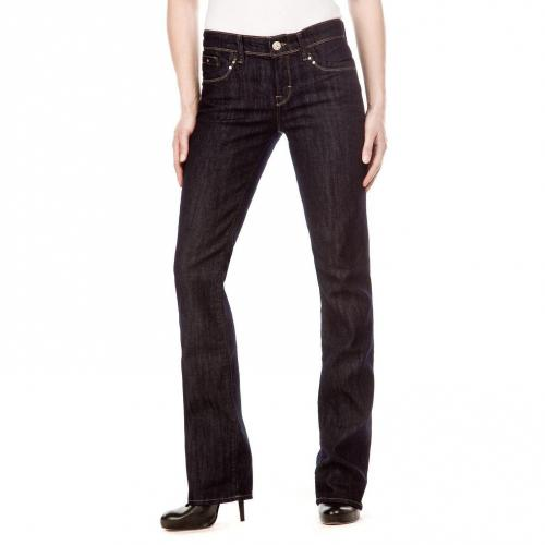 Mavi Mona Jeans Überlänge 36 Onewash Bootcut