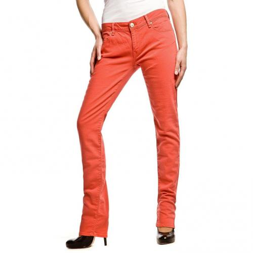 Mavi Sophie Jeans Rot Slim Fit