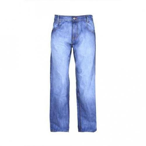Mecca - Baggy MJ993-043 Light Wash Blaue Waschung