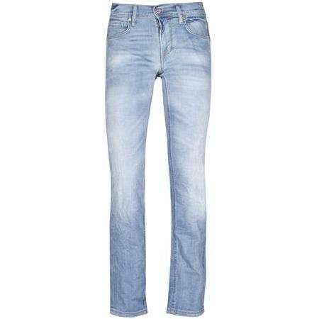 Meltin Pot - Hüftjeans Markus Stretch Blue Denim Used & Whiskers Blau