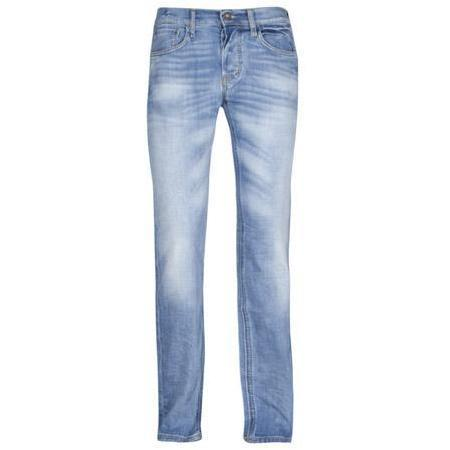 Meltin Pot - Hüftjeans Morgan Stretch Blue Denim - Used & Whiskers Blau
