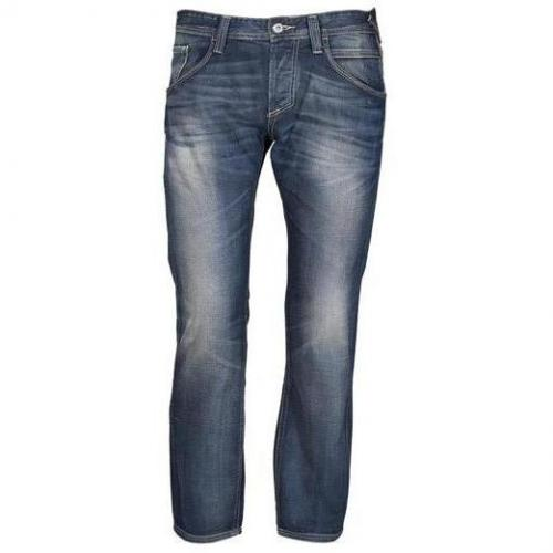 Meltin Pot - Hüftjeans MP001 Blue Denim - Used & Whisker Blau