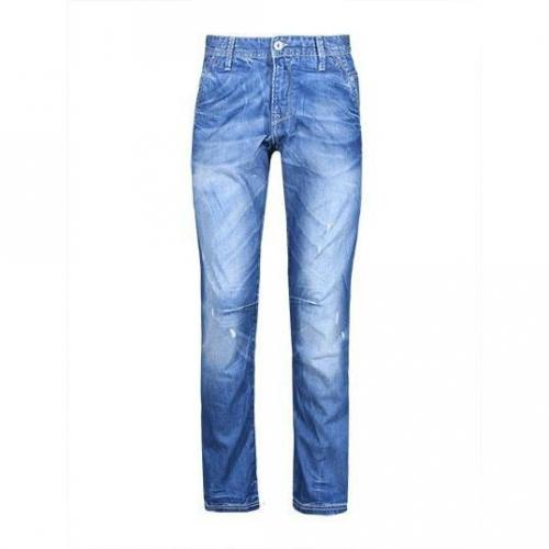 Meltin Pot - Hüftjeans MP004 Blue Denim Blaue Waschung