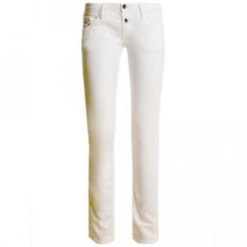 Meltin Pot - Skinny Modell Mariette Stretch Bull - Rinse & Whisker Farbe Weiß