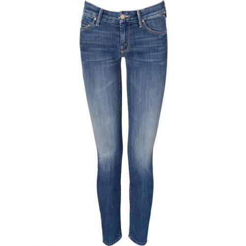 Mother Medium Denim Looker Skinny Jeans