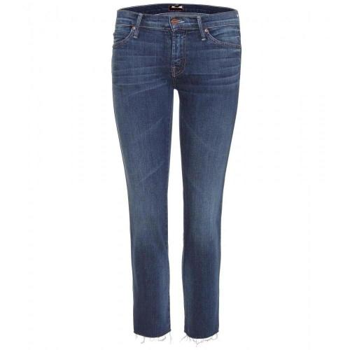 Mother The Rascal Fray 7/8 Jeans