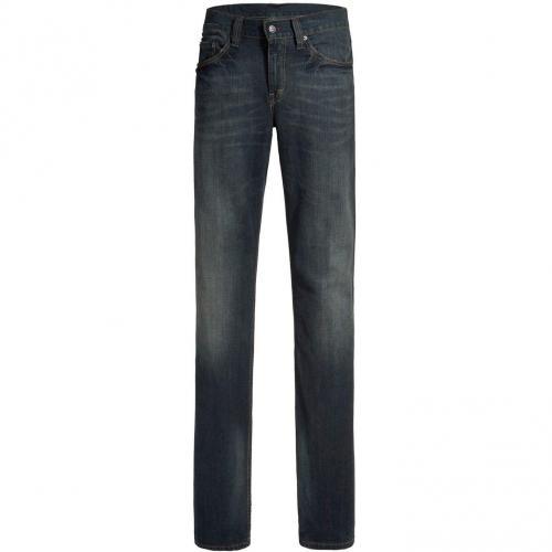 Mustang Bootcut Jeans Bootcut Dark Used Überlänge 40