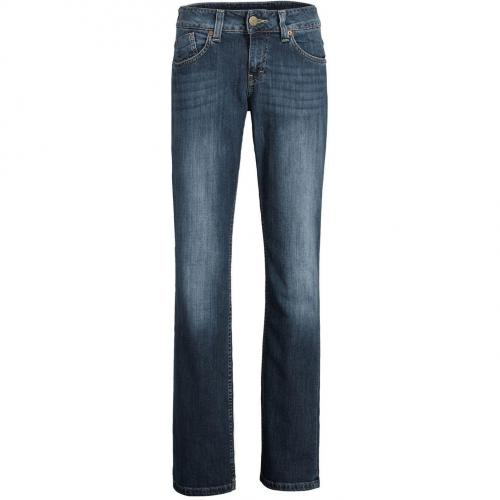 Mustang Emily Jeans Überlänge 36 Straight Fit Stone Used