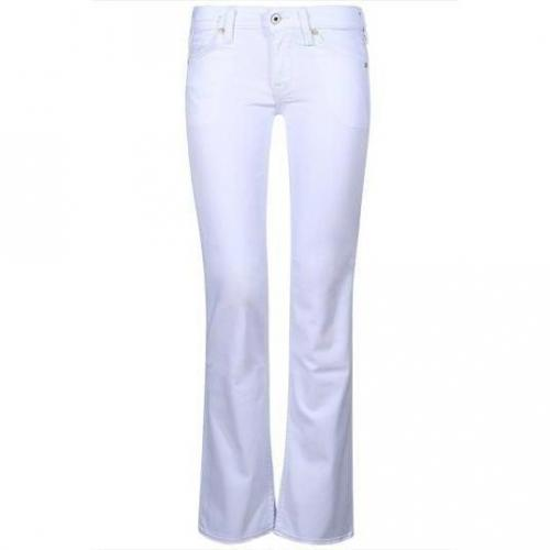 Mustang - Hüftjeans Modell Girl's Oregon White Stretch Farbe Weiß