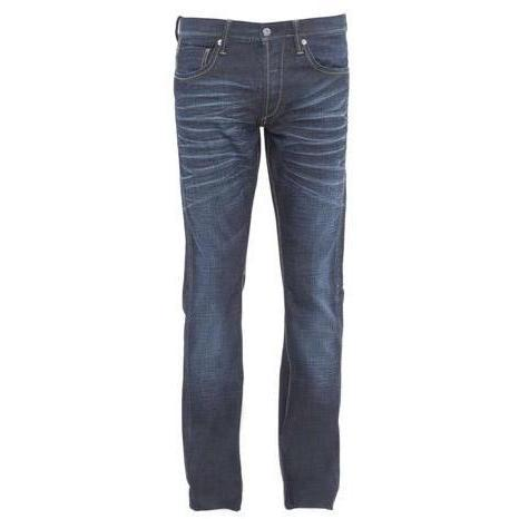 Mustang - Hüftjeans Kelso Coated Cross Blau