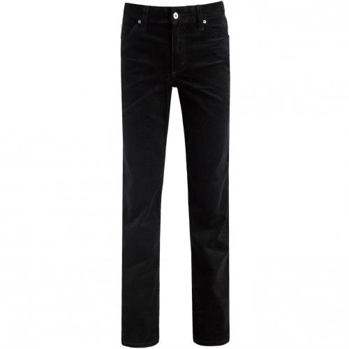 Mustang Tramper Cordjeans Straight Fit Schwarz