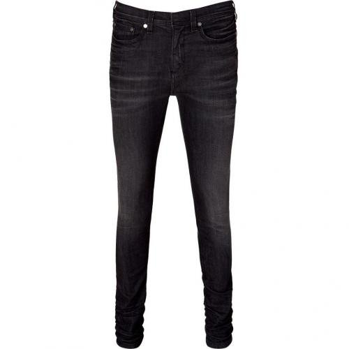 Neil Barrett Grey Denim Pants