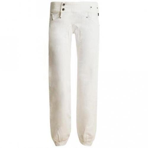 Nikita - Harem Modell Reality Jeans snow Farbe Weiß