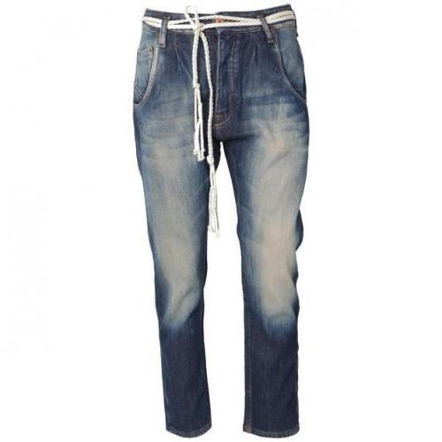 November Boyfriend-Jeans blau