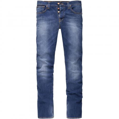 Nudie Herren Jeans Grim Tim