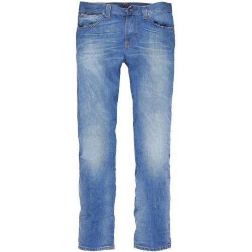 Nudie Herren Jeans Slim Jim Midsummer Blue