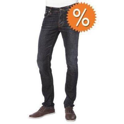 Nudie Jeans GRIM TM Jeans dark used look blau