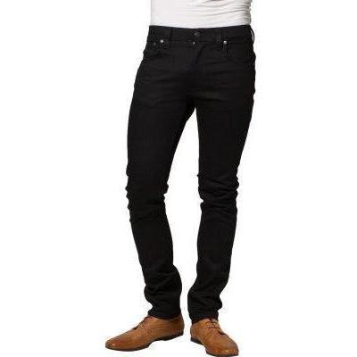 Nudie Jeans TAPE TED Jeans schwarz ring